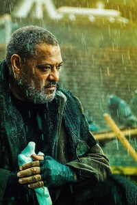 Laurence Fishburne As Bowery King In John Wick Chapter 3 Parabellum 2019 8K