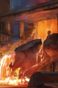 Lava Facility 4k