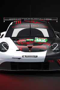 480x800 Le Mans Porsche Gte
