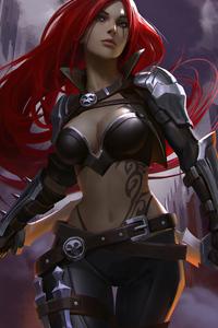 League Of Legends Katarina 4k