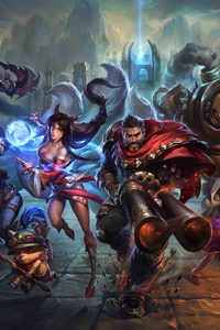League Of Legends Key Art 5k