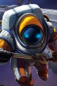 League Of Legends Nautilus Astronautilus 4k