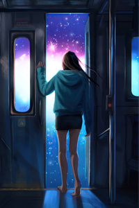 1080x2280 Leaving The Life Train 5k