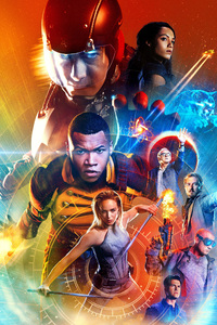 480x800 Legends Of Tomorrow Tv Show Poster