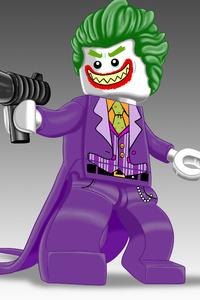 Lego Joker 5k Artwork