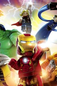 LEGO Marvel Super Heroes 4k