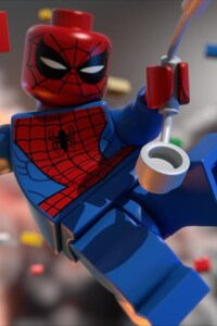 320x568 Lego Spiderman