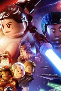 640x960 Lego Star Wars The Force Awakens