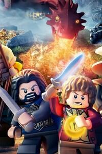 1080x2280 Lego The Hobbit Game