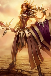 240x320 Leona League Of Legends