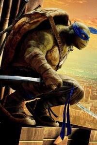 320x480 Leonardo Teenage Mutant Ninja Turtles Out Of The Shadows