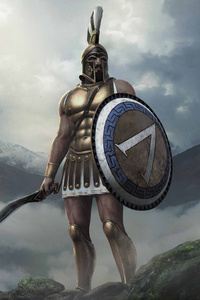 480x800 Leonidas Total War Arena 8k