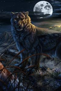 Leopard Fantasy 4k
