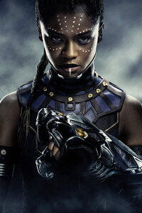 Letitia Wright Black Panther 5k