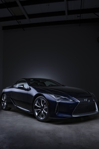 Lexus Black Panther LC 500 Photoshoot