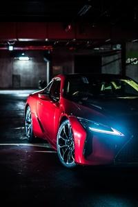 640x960 Lexus LC 500 8k Car