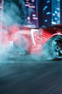 240x400 Lexus LC 500 Drifting