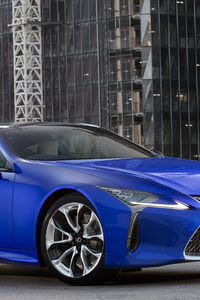 240x400 Lexus LC 500 Limited Edition 2018 Front