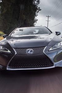 Lexus LC 500h 2018 Front