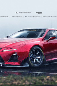 Lexus LC500 Fan Design