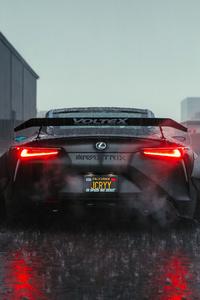 1280x2120 Lexus Speed We Trust 4k