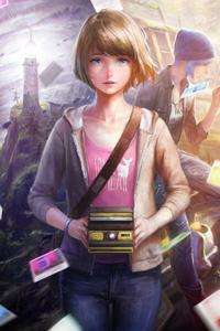 1440x2960 Life Is Strange Game Fanart 5k