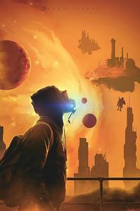 1242x2688 Life On Mars 4k