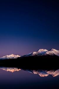 1440x2560 Light At Lake Camp