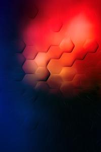 480x854 Light Flare Shapes 4k