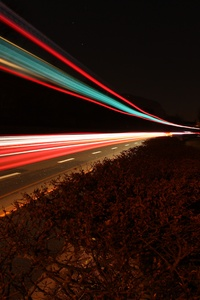 2160x3840 Light Trail