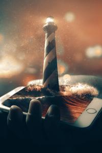 Lighthouse Photomanipulation
