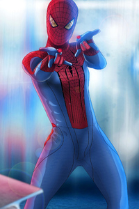 Lighting Spiderman