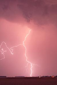 Lightning Nature Strom 4k