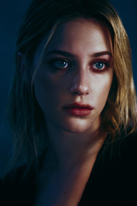Lili Reinhart Face Portrait 4k