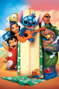 Lilo And Stitch Animated Movie