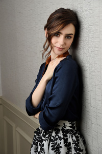 Lily Collins Cute 2017 4k