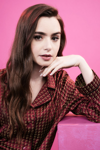 360x640 Lily Collins Deadline Contenders Emmy Event 2019