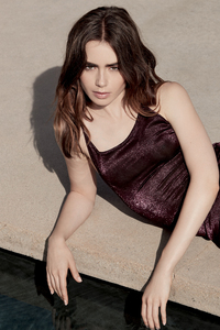 Lily Collins Grazia UK 2018 Photoshoot