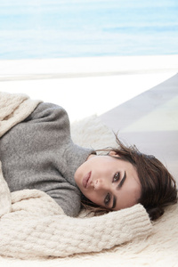 Lily Collins Malibu Photoshoot