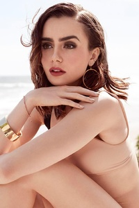 Lily Collins Shape Magazine