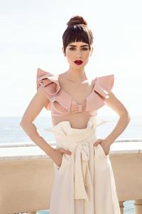 Lily Collins W Magazine