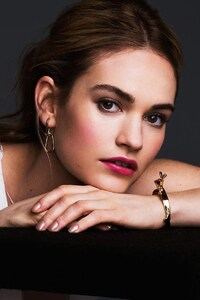 1080x2160 Lily James 4