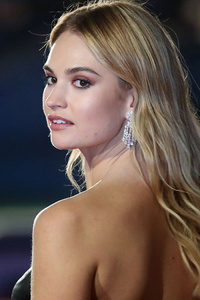 Lily James Hd 2018