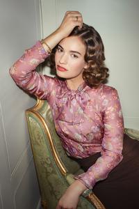 2160x3840 Lily James Vogue 2020