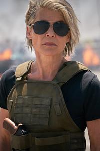 Linda Hamilton In Terminator Dark Fate 5k