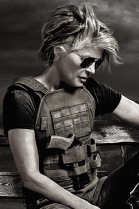 Linda Hamilton In Terminator Dark Fate