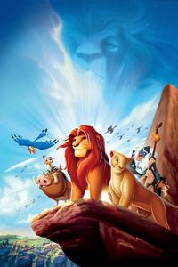 1242x2688 Lion King 1994