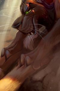 Lion King Vs Lion Digital Art