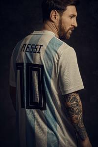 480x800 Lionel Messi 2018