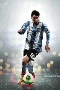 480x800 Lionel Messi